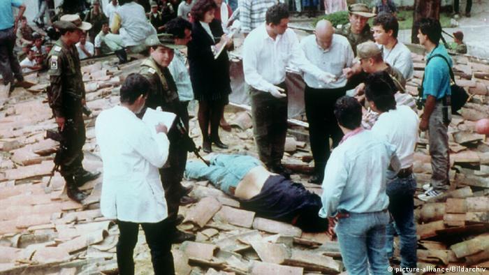 Kolumbien Leiche von Pablo Escobar