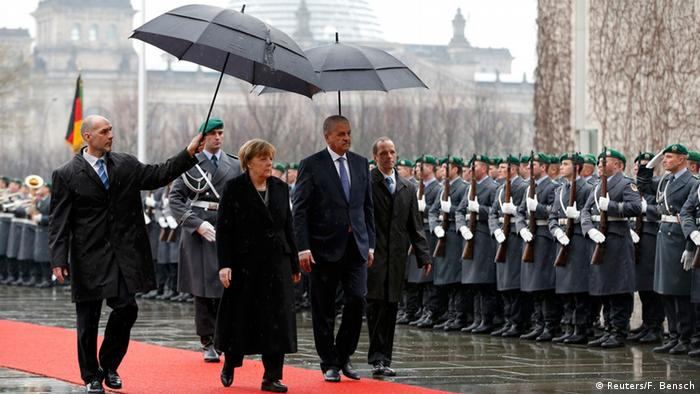Deutschland Algerien Sellal bei Merkel
