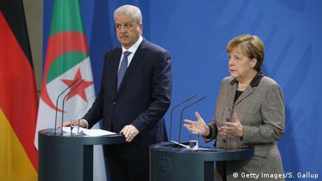 Deutschland Algerien Sellal bei Merkel PK
