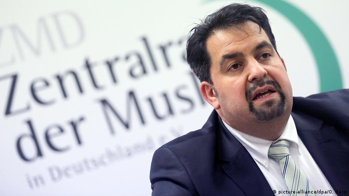 Zentralrat der Muslime in Deutschland, Vorsitzender Aiman Mazyek