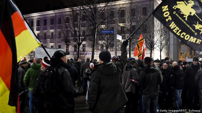Islamfeindliche Legida demonstriert in Leipzig (foto: Getty Images)