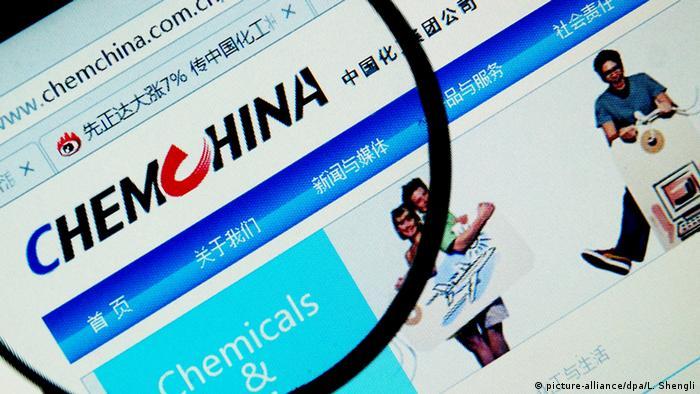 ChemChina Übernahme europäischer Firmen durch chinesische Staatskonzerne