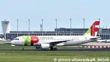TAP Air Portugal owns Portugalia (picture-alliance/dpa/B. Settnik)
