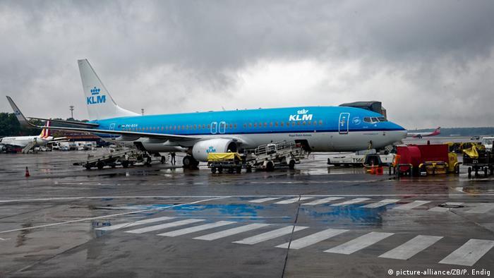 Jacdec Sicherheitsranking Luftfahrtgesellschaft KLM (picture-alliance/ZB/P. Endig)