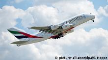 Jacdec Sicherheitsranking Luftfahrtgesellschaft Emirates