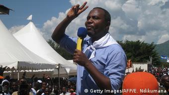 Burundi Opppositionspolitiker Alexis Sinduhije