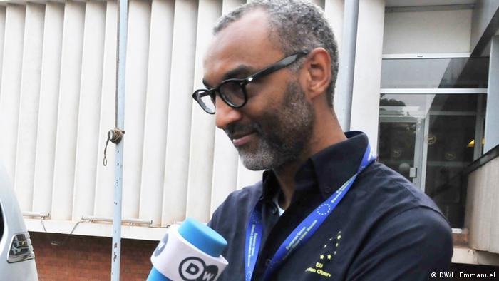 An EU election observer talks to DW