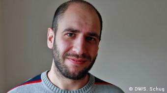 Bonn Alaa Houd syrischer Flüchtling (DW/S. Schug)
