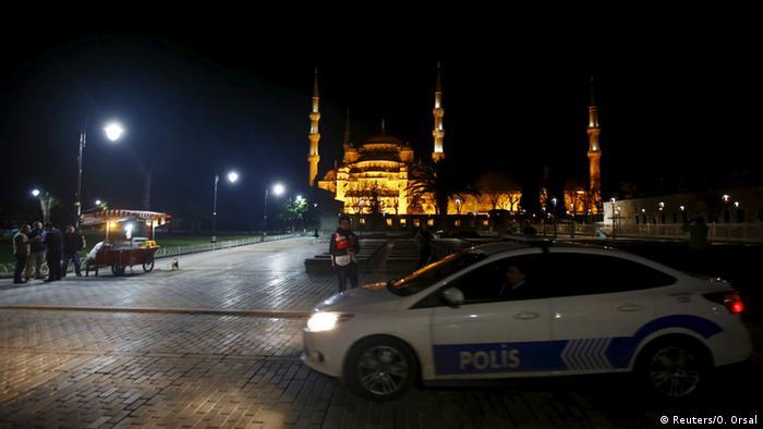 Istanbul Hagia Sofia Turki polisi pasca serangan teror