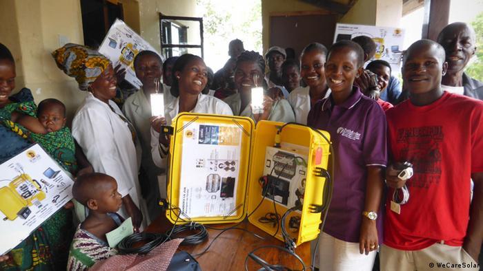 Tansania Sengerema Solar Suitcase