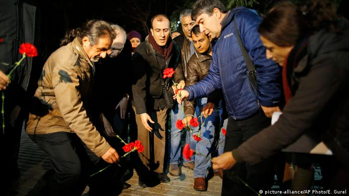Istanbul Trauer nach Bombenanschlag