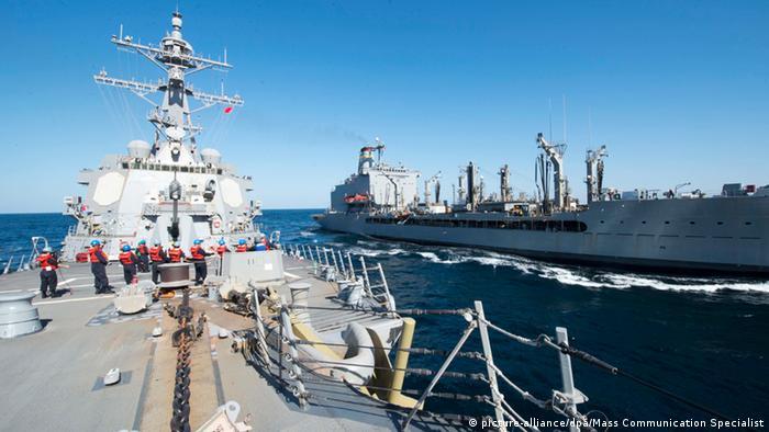 US Navy Iran Kriegsschiffe Symbolbild