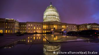 Вашингтон, вид на Капитолий