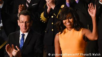 Michelle Obama Washington USA Kongress Rede Dannel Malloy
