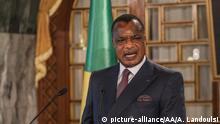 Kongo Präsident Denis Sassou Nguesso