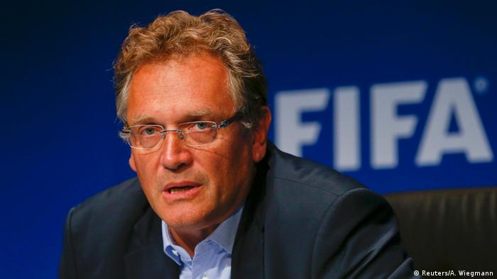 FIFA Generalsekretär Jerome Valcke PK in Zürich