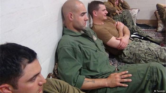US-Marine-Seeleute in Iran