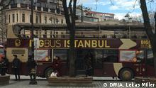 13.01.2016 ***** A tour bus in Istanbul @ DW/Anna Lekas Miller, Istanbul