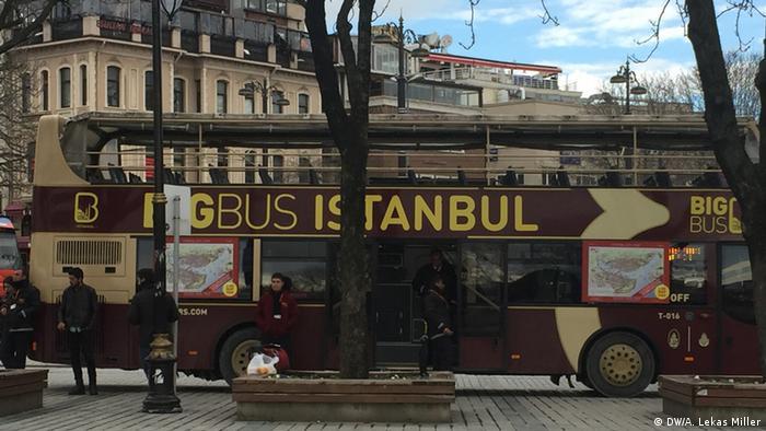Türkei Touristen-Bus in Istanbul