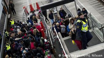Schweden Dänemark Grenze Flüchtlinge