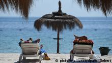 Tunesien Tourismus Strand