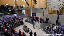 El Parlamento, o Bundestag alemán.