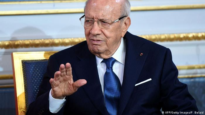 Tunesien, Beji Caid Essebsi (AFP/Getty Images/F. Belaid)