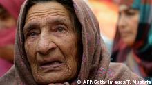 Indien, alte Frau