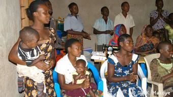Teenager Mütter in Tansania