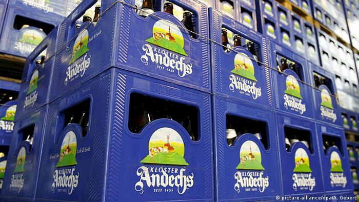 Deutschland, Bierkästen des Klosters Andechs