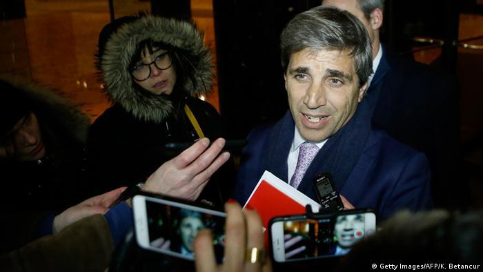USA Argentinien - Luis Caputo in New York (Getty Images/AFP/K. Betancur)