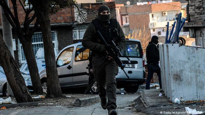 Türkei Polizei in Diyarbakir