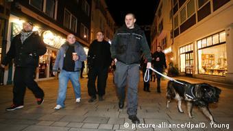 Отряды гражданской обороны в Дюссельдорфе