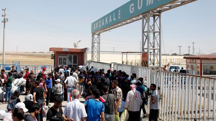 На турецко-сирийской границе