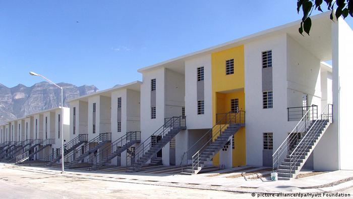 Дома в мексиканском городе Монтеррей