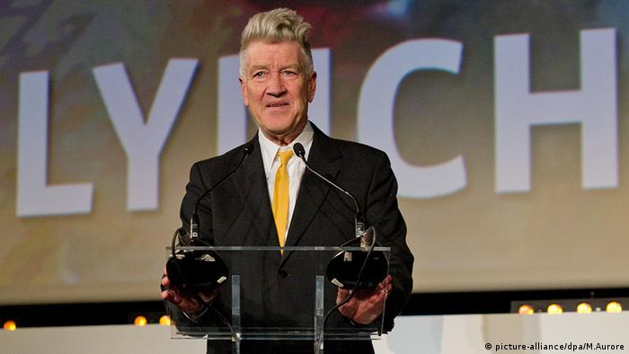 David Lynch öffentlicher Auftritt Frankreich Premiere Stoker