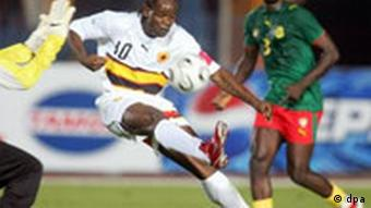 Afrika-Cup, Fußball, Angola, Fabrice Maieco
