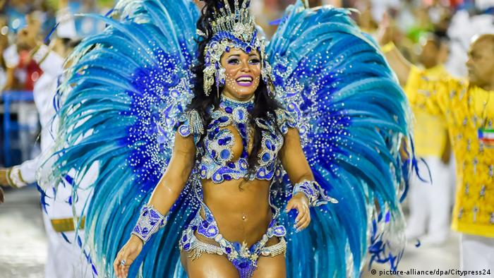 Karneval in Rio Brasilien (picture-alliance/dpa/Citypress24)