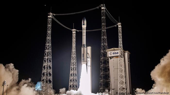 Старт європейської ракети Vega