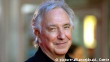 17.10.2014 *** ARCHIV - British actor-director Alan Rickman arrives for the premiere of 'A Little Chaos' at the 58th BFI London Film Festival, in London, Britain, 17 October 2014. EPA/ANDREW COWIE (zu dpa Schauspieler Alan Rickman gestorben vom 14.01.2016) +++(c) dpa - Bildfunk+++ Copyright: picture-alliance/dpa/A. Cowie