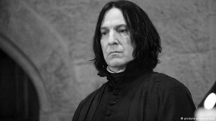 Alan Rickman alias Professor Snape Harry Potter Obit