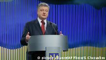 Unter Präsident Petro Poroschenko kommt die Ukraine nicht voran