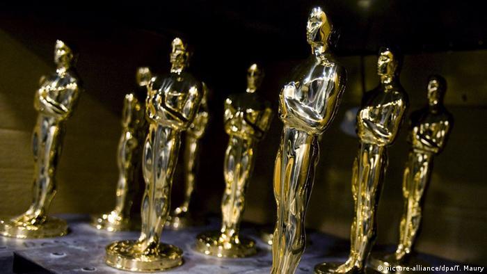 Vergoldete Oscar-Statuen