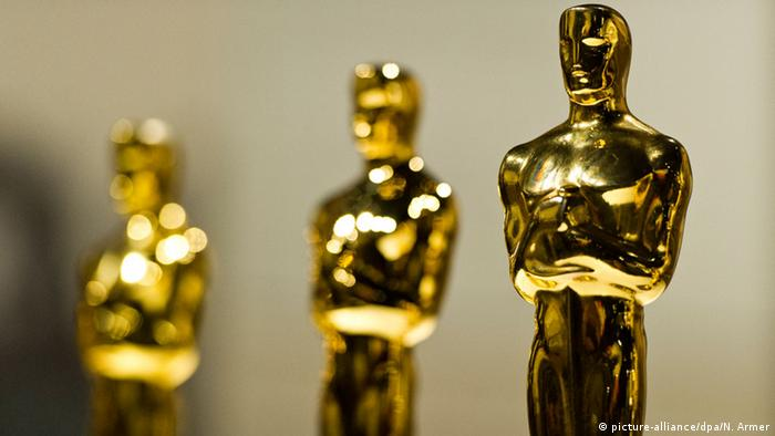 Oscar statues, Copyright: picture-alliance/dpa/N. Armer