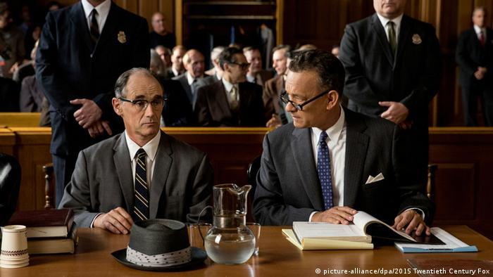Tom Hanks in einer Filmszene von Bridge of Spies