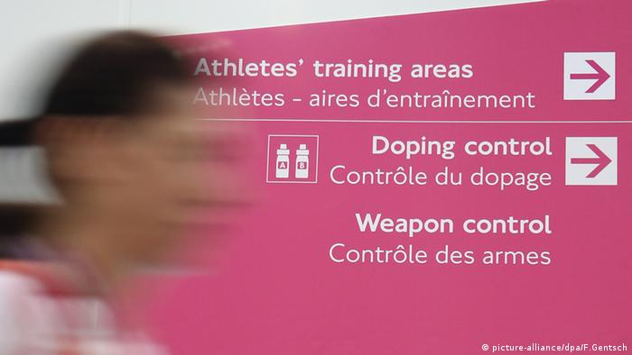 ExCel Arena London Doping Kontrolle