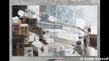 Syrische Kunstmaler und soziale Netzwerke Reem Yassouf