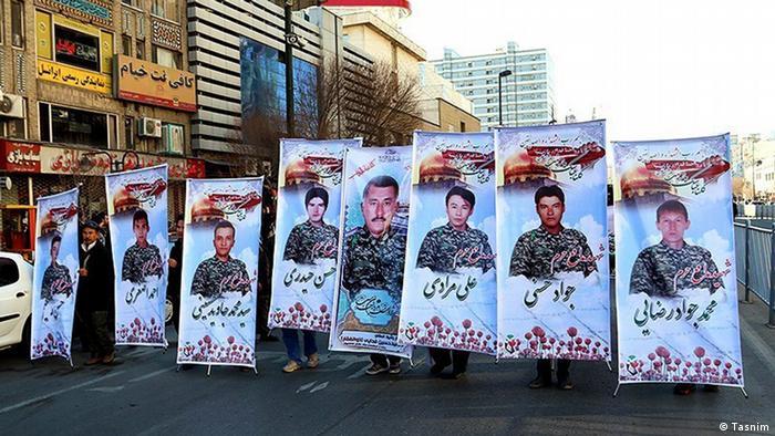 Iran Wochengalerie KW 2 - Soldaten Beisetzung in Syrien (Tasnim)