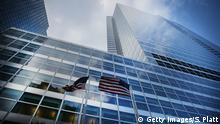 USA Zentrale von Goldman Sachs in New York
