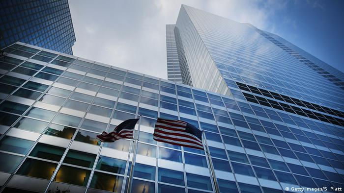 USA Zentrale von Goldman Sachs in New York (Getty Images/S. Platt)